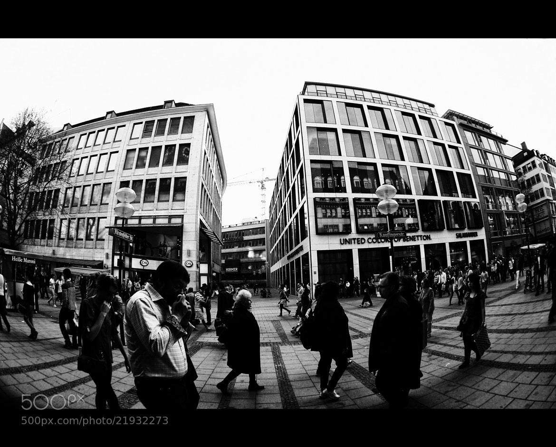 Photograph .::Last Munich Street of 2012::. by Floh Poschenrieder on 500px