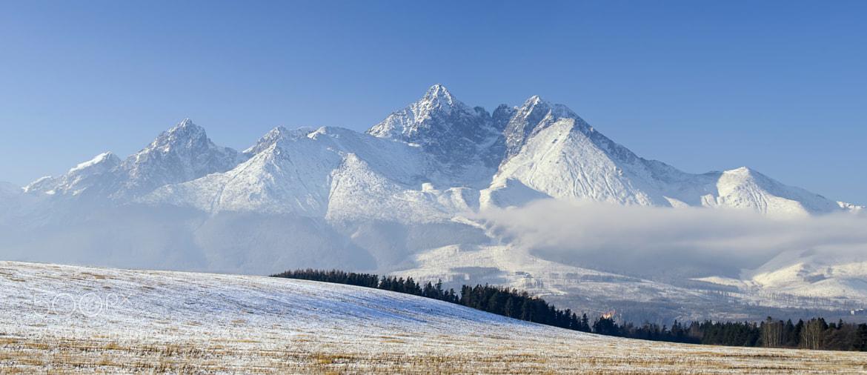 Photograph High Tatra Panorama by Csilla Zelko on 500px