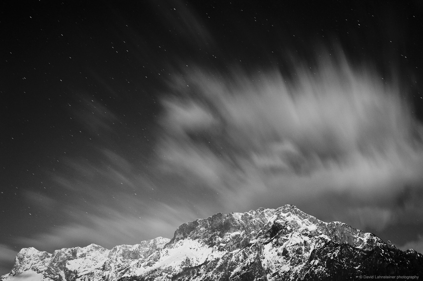 Photograph Cloudy Mountain by David Lahnsteiner on 500px