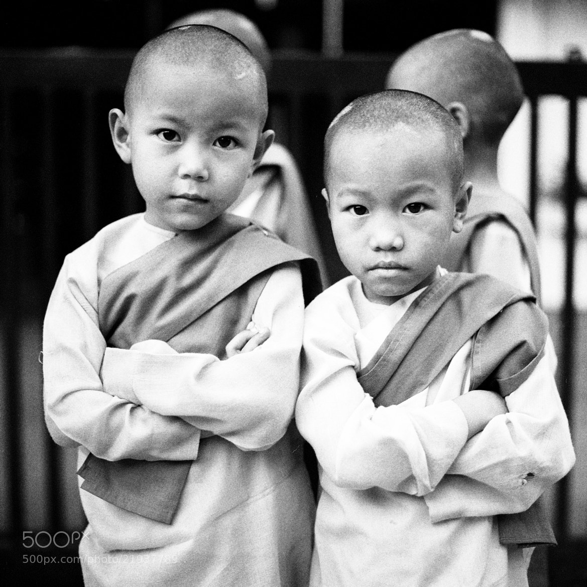 Photograph nuns, bahan township by  momofuku on 500px