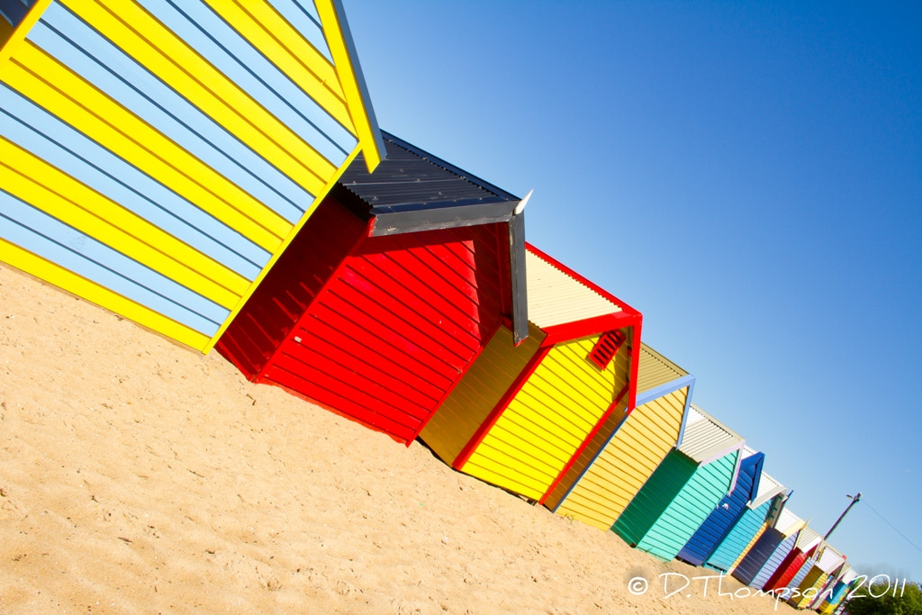 Photograph Brighton Beach Boxes by Green Orchard Photography on 500px
