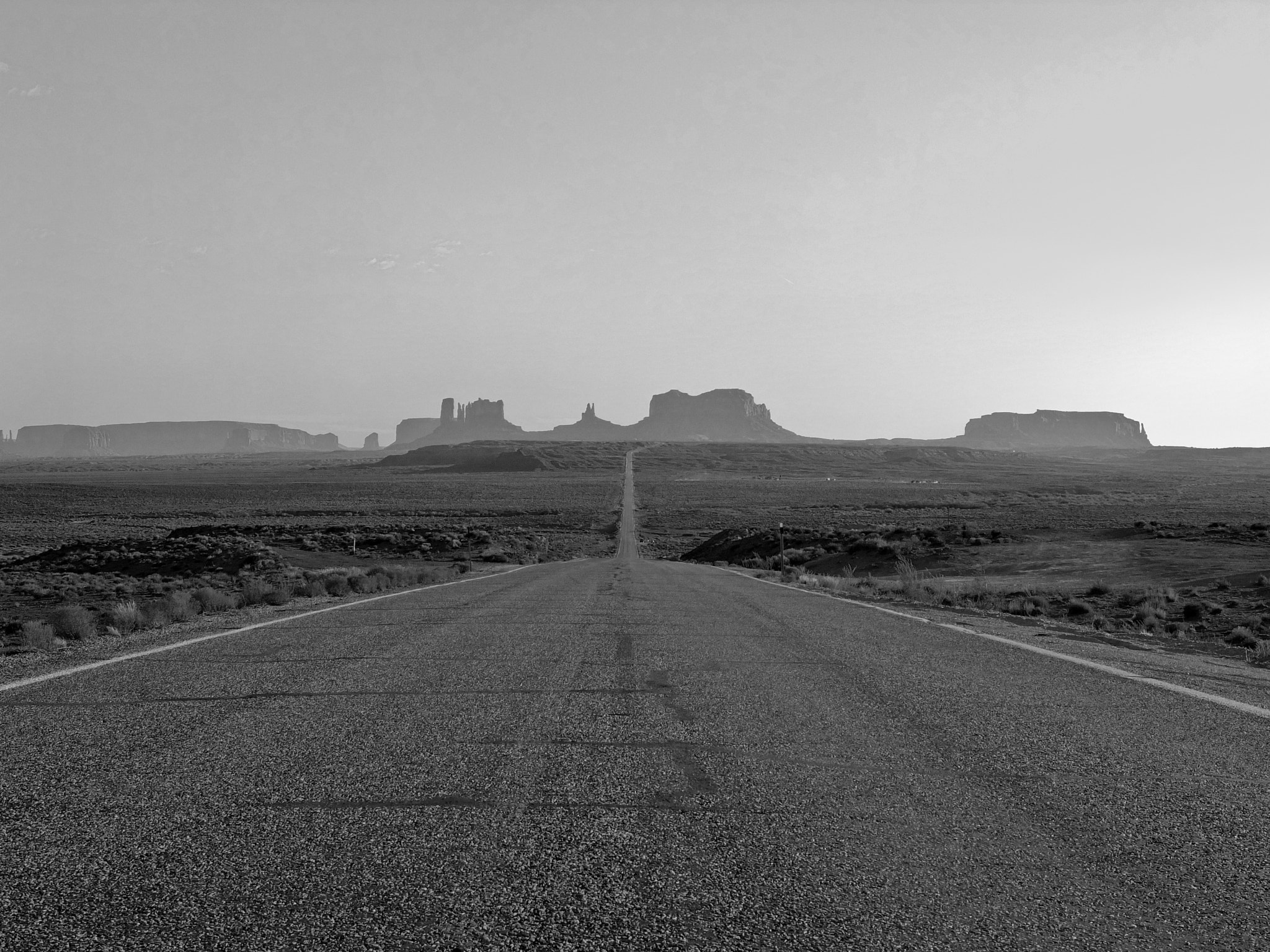 Photograph On the road in b&w by Manuel Perrone on 500px