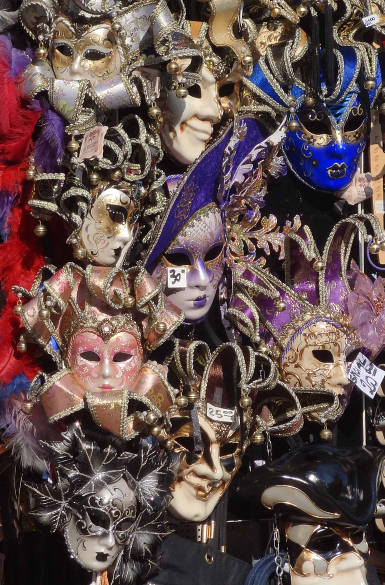 Photograph Masks in Venice by Steve Day on 500px