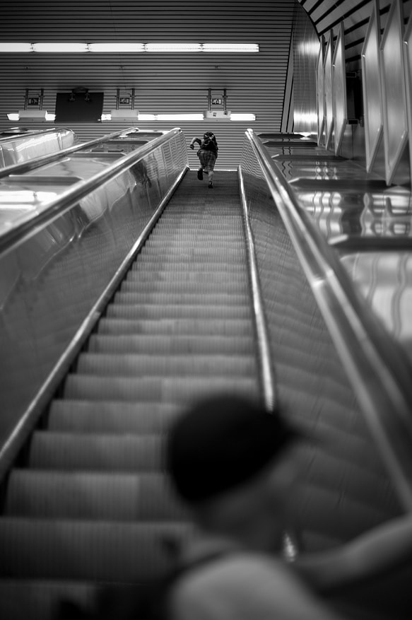 Photograph Escalator by Ugly John on 500px