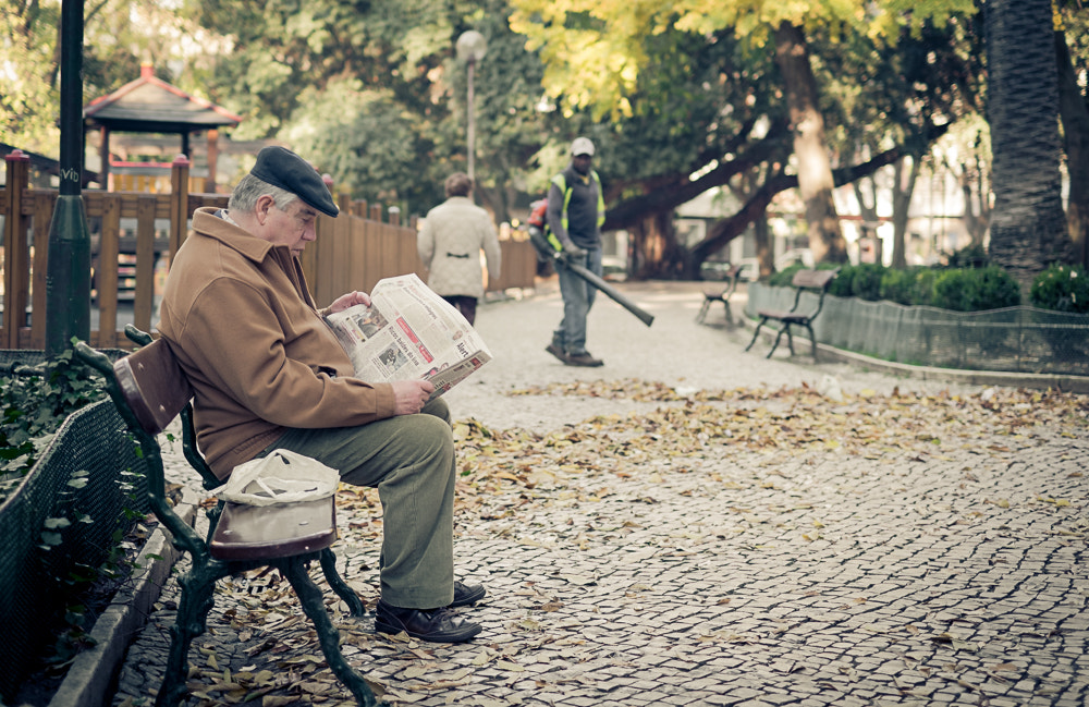 Photograph Sitting and Reading by Paulo Teixeira on 500px