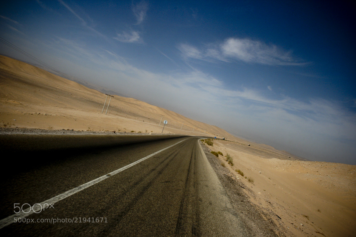 Photograph Neverending road to nowhere by Victor Borst on 500px