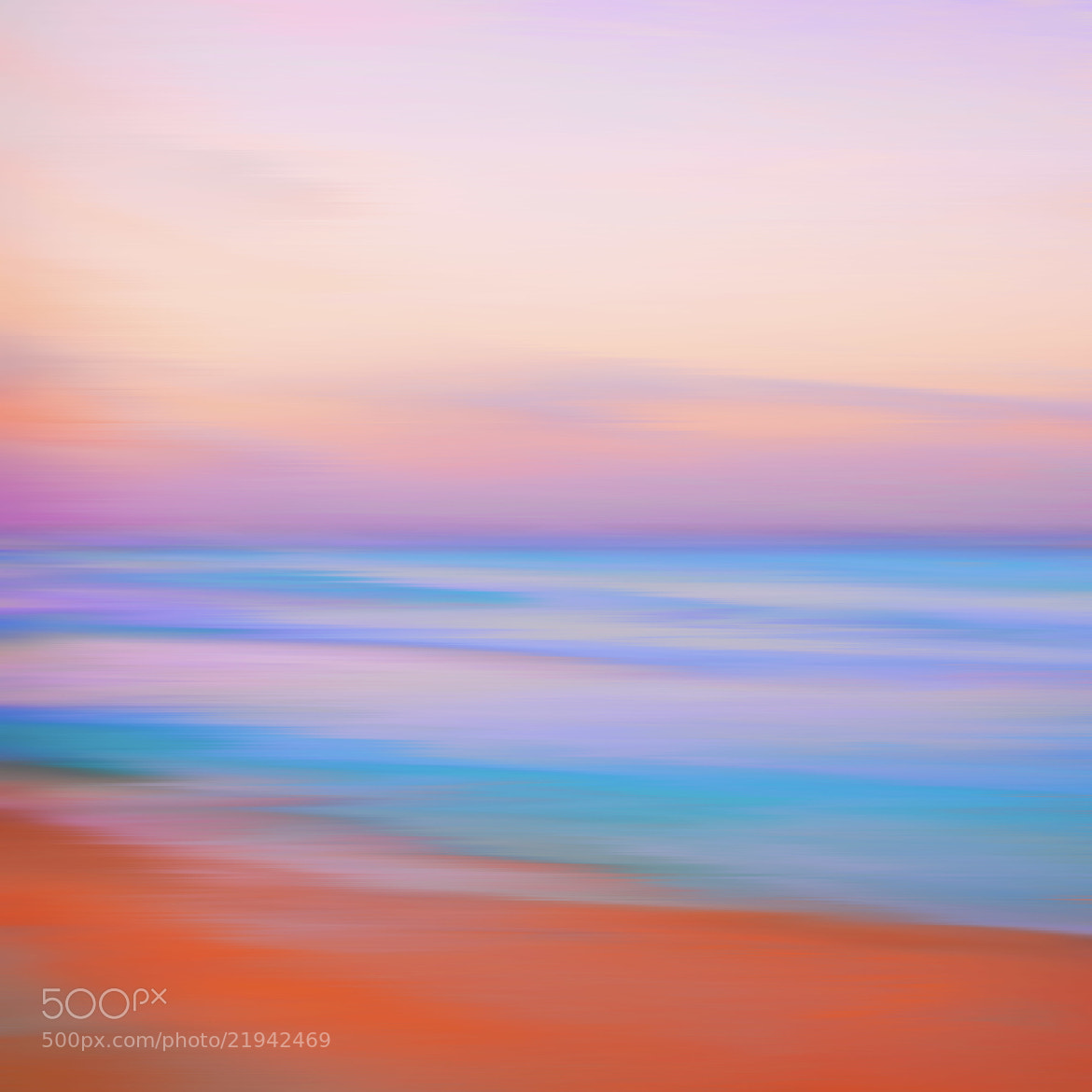 Photograph BeachAndSeaAtTwilight by Coolor Foto on 500px