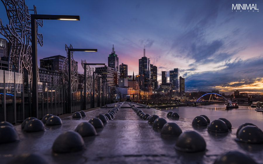 Sandridge Bridge, Melbourne. by Minimal ISO on 500px.com