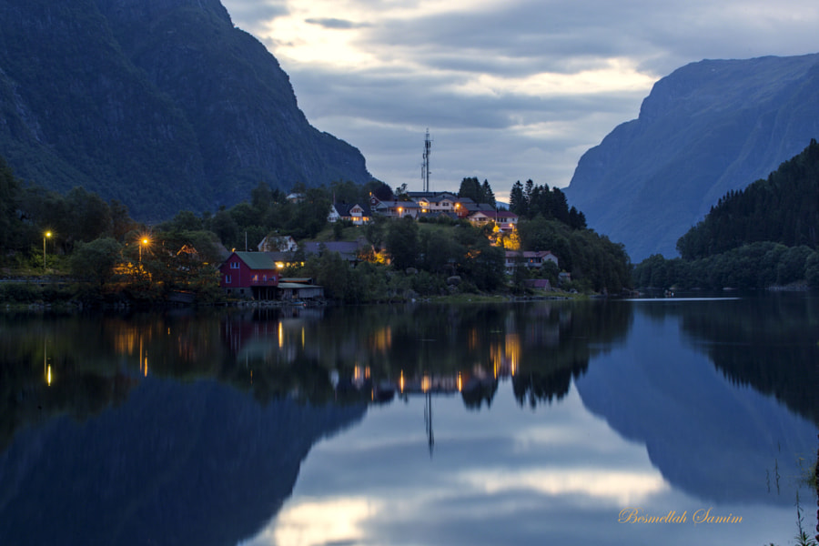 Fjord night by Besmellah Samim on 500px.com