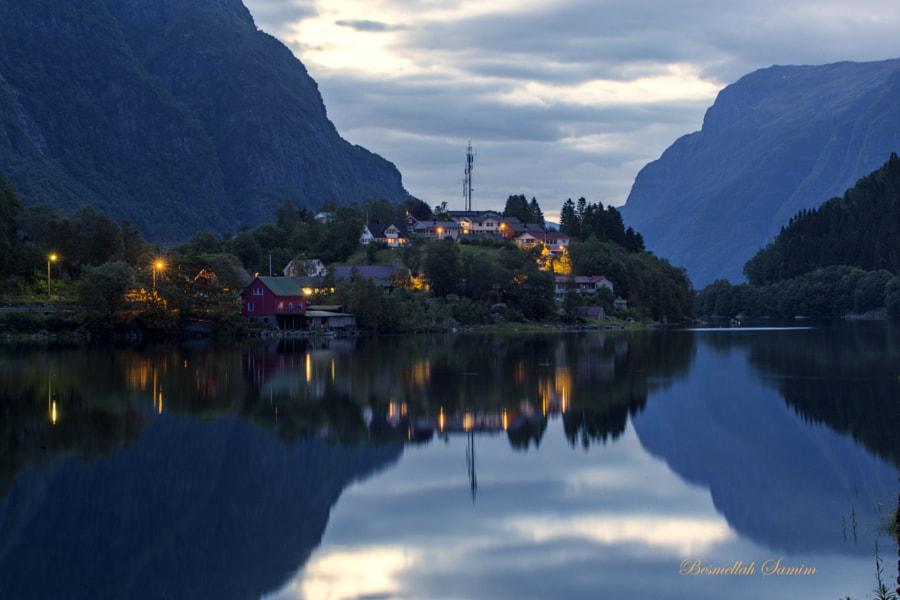 Fjord night by Besmellah Samim on 500px.com