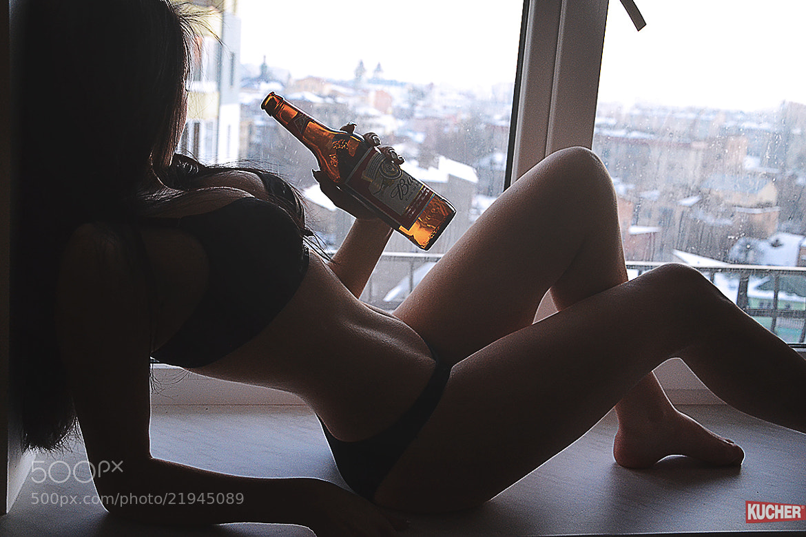 Photograph girl & beer by Nazar Kucher on 500px