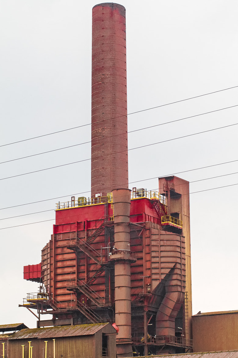 Photograph Red Factory Chimney by Christophe Berthe on 500px