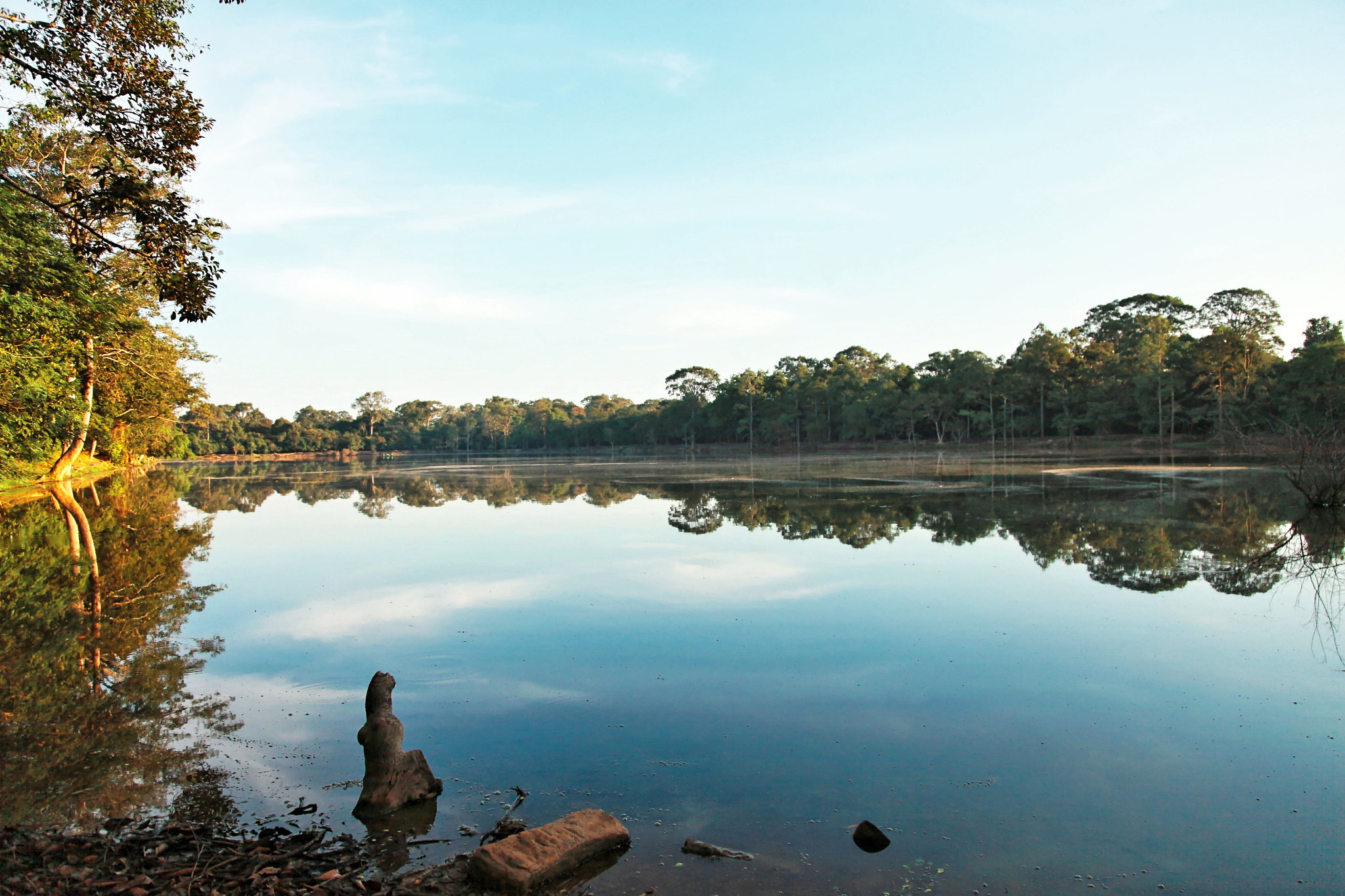 Photograph Morning on the Moat by Mahesh Krishnamurthy on 500px