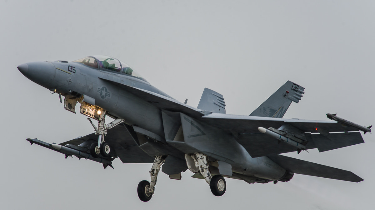 Photograph Wet F/A-18 by Guy Swarbrick on 500px