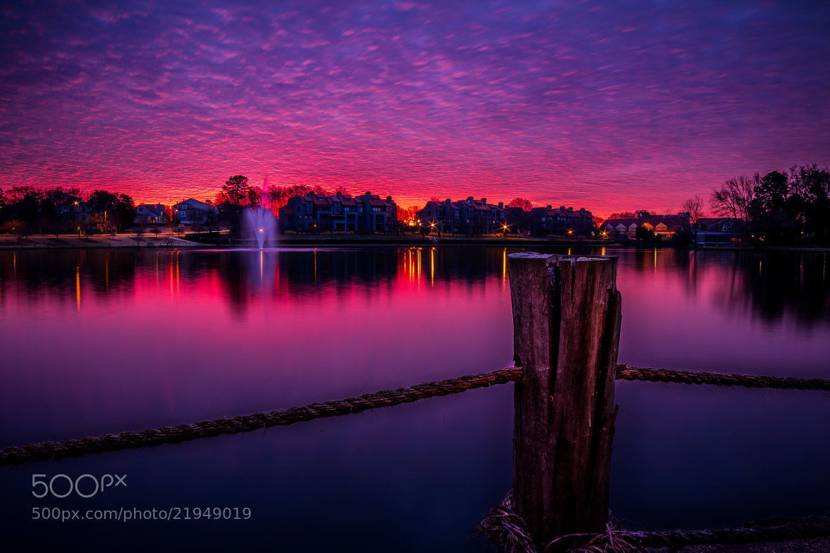 Photograph New Years Eve Sunrise by David Swan on 500px