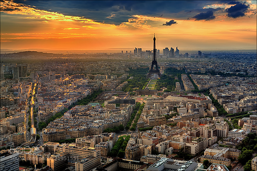 Paris and the Eiffel Tower by Don Smith (DonSmith1)) on 500px.com