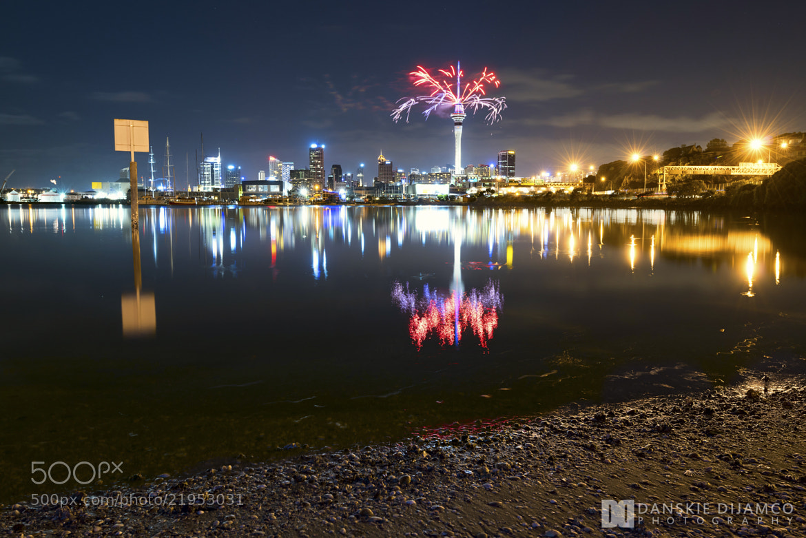 Photograph Auckland 2013 Fireworks by Danskie Dijamco on 500px