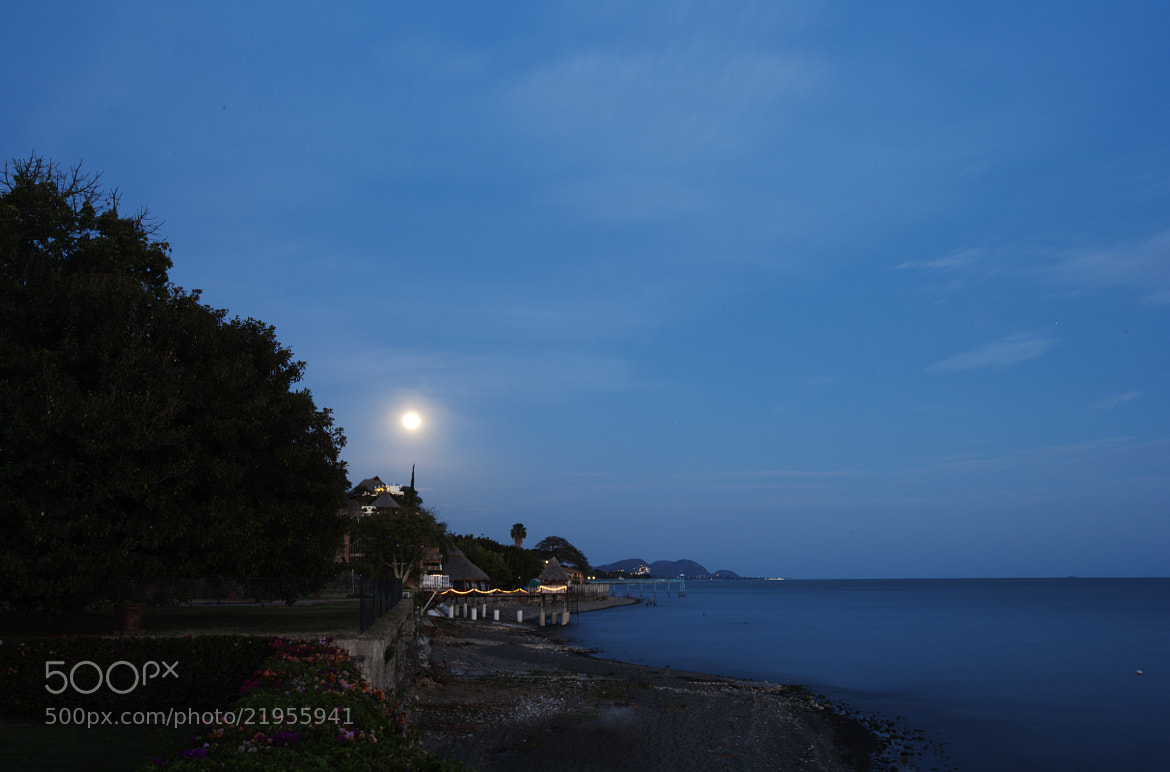 Photograph Full moon and lake by Cristobal Garciaferro Rubio on 500px