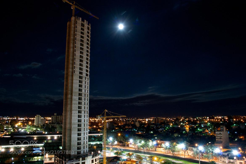 Photograph Dark Blue night by Jose  Ferreyra on 500px