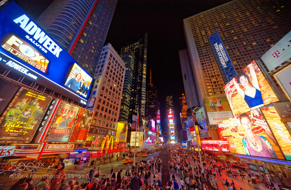 Photograph Times Square, The Crossroads of the World - New York City by Michael FRANCHITTI on 500px
