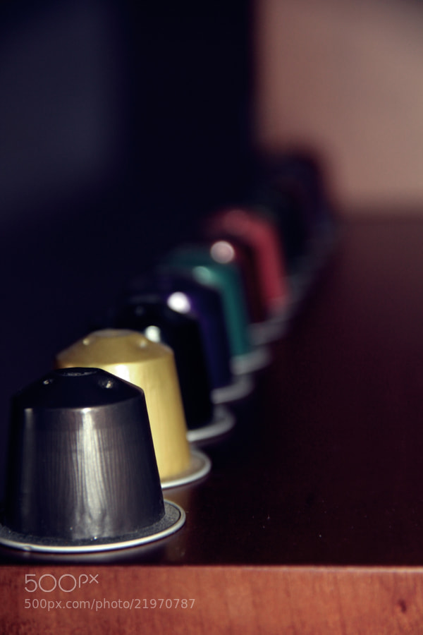 Photograph Nespresso by susana carvalho on 500px