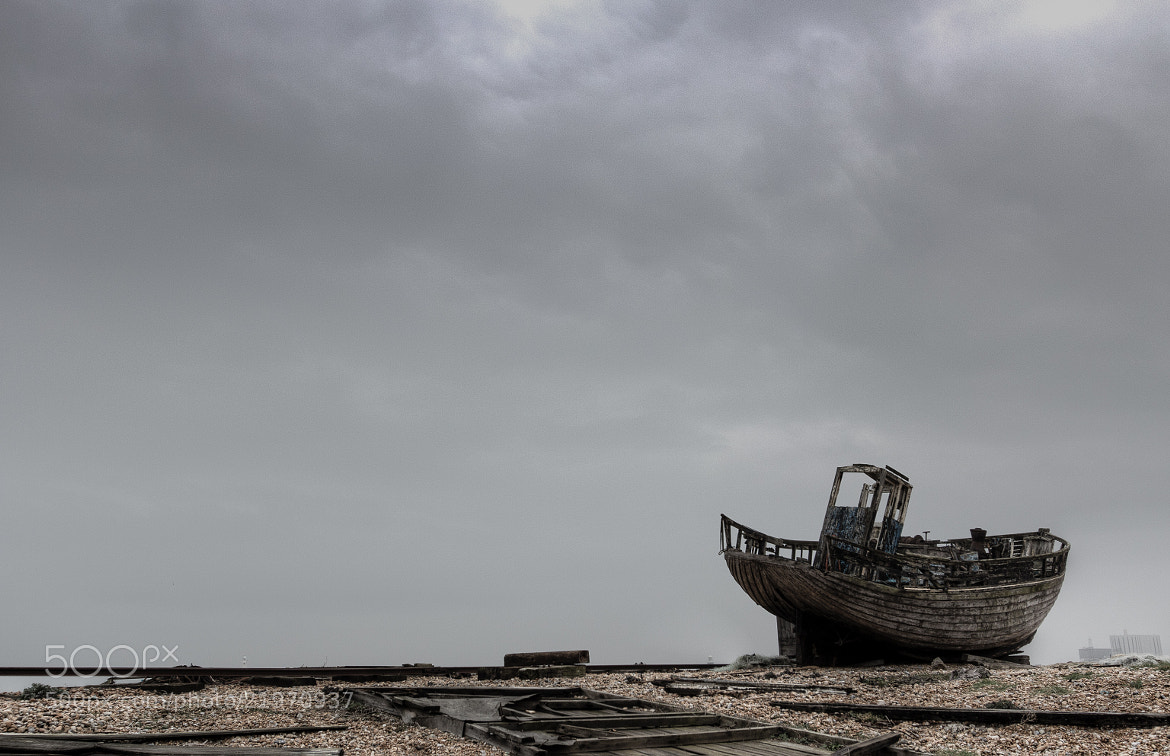 Photograph Marooned on the beach by Kelvin Trundle on 500px
