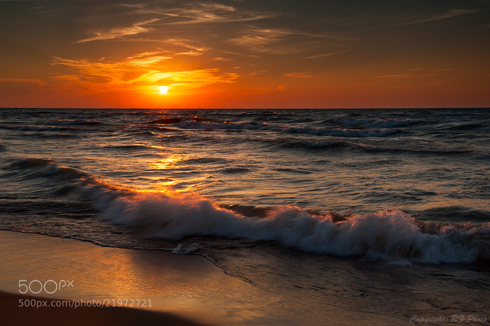 Photograph Sunset at Indiana Dunes by Rudi Zhang on 500px