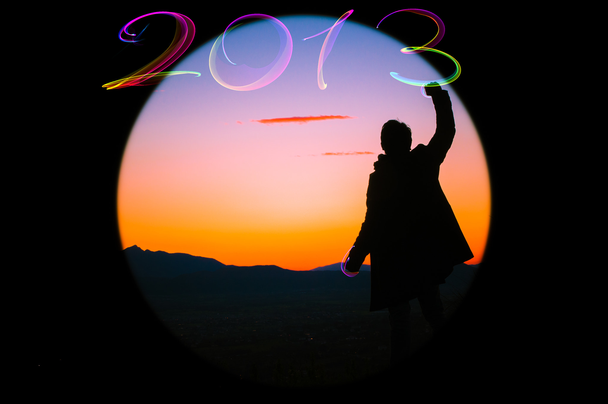 Photograph Happy 2013 - Greetings Card - 1 by Simone Ciliberti on 500px