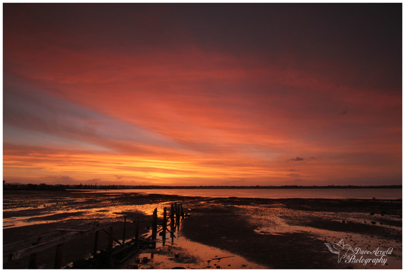 Photograph Sunset New Years Eve 2012 by David Arnold on 500px