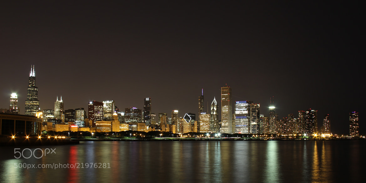Photograph Chicago Skyline by Mauricio Ferreira on 500px