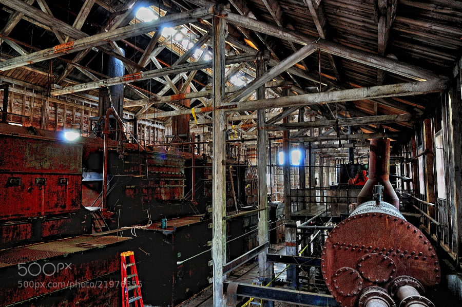 Photograph Inside an Old Power Plant (Kennicott Copper Mines) by Mark Stevens on 500px