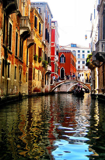 Photograph Venetian Reflections by Brittany S on 500px
