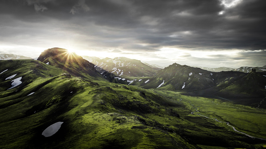 Sunrise at Fjallabak Iceland by OZZO Photography on 500px.com
