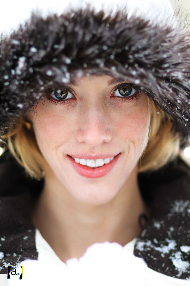 Photograph Britta in the snow by Ted Colegrove on 500px