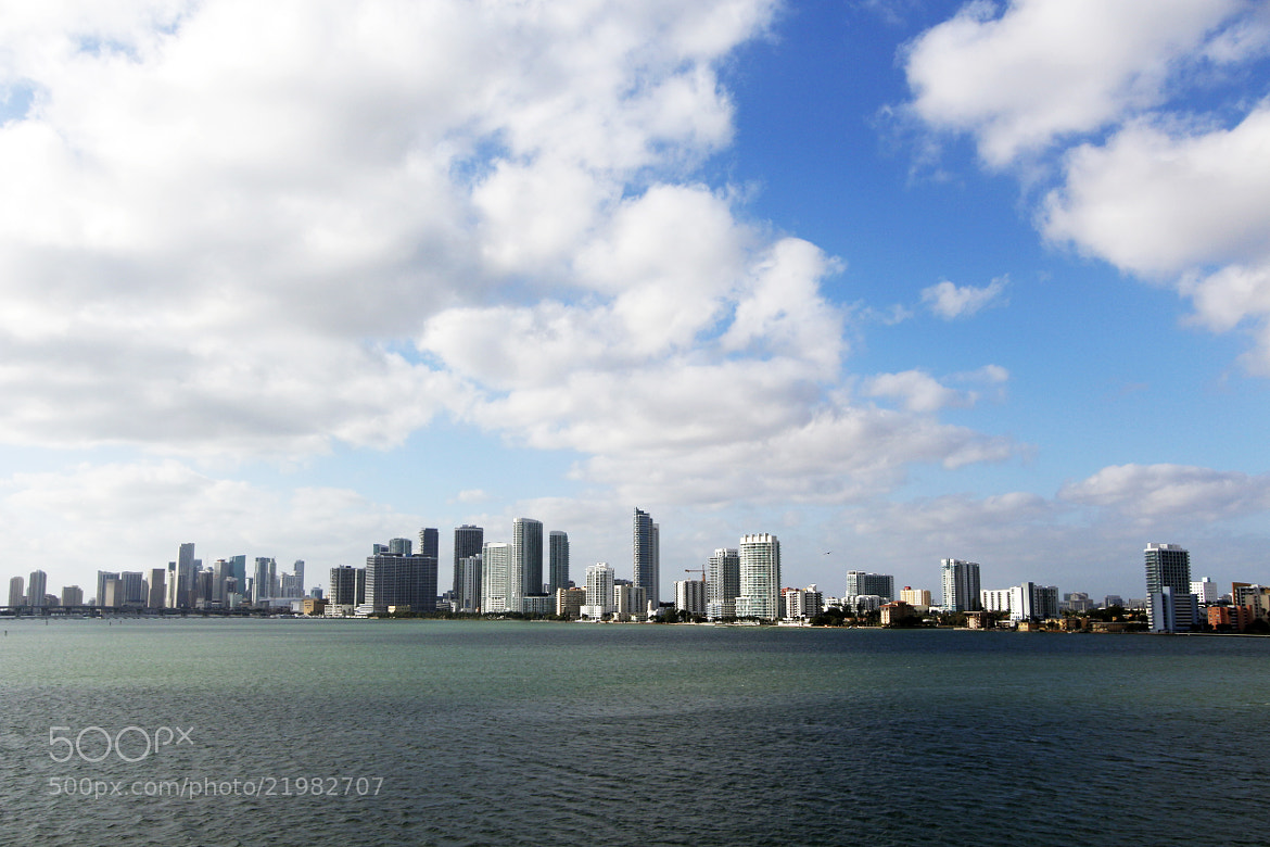 Photograph Downtown and Biscayne by Silvio Ortega on 500px