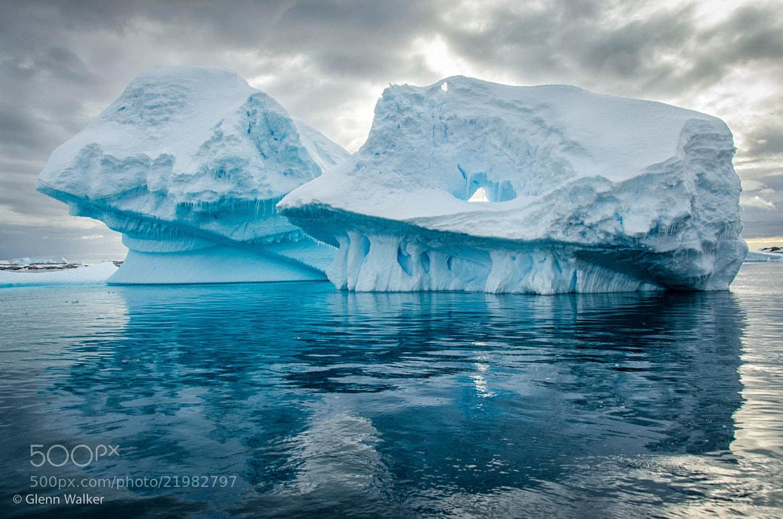 Photograph Twin bergs by Glenn Walker on 500px