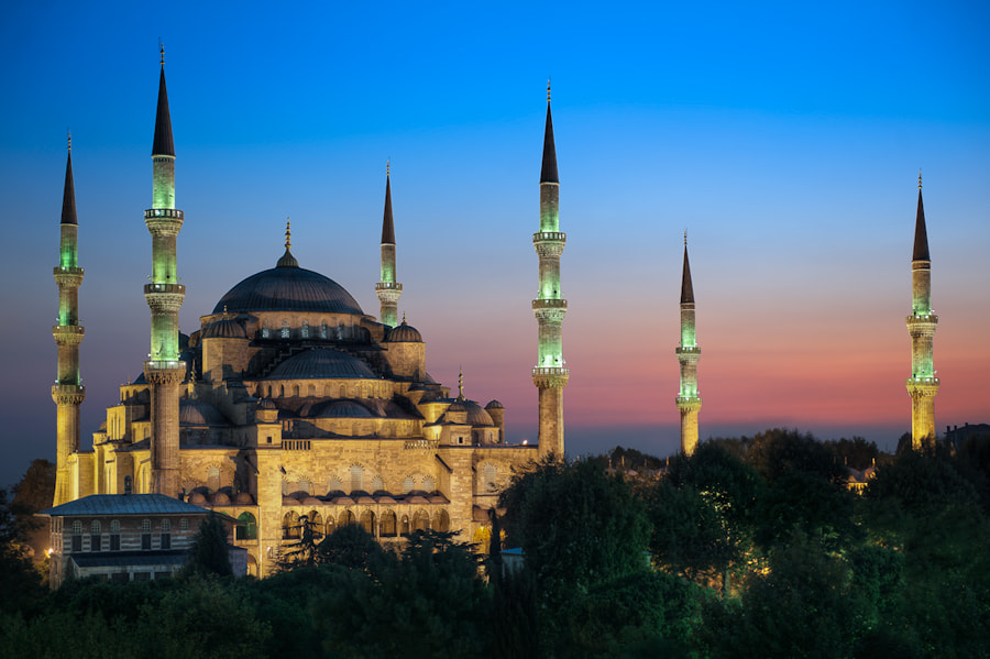 Photograph The Blue Mosque - Istanbul, Turkey by Elia Locardi on 500px