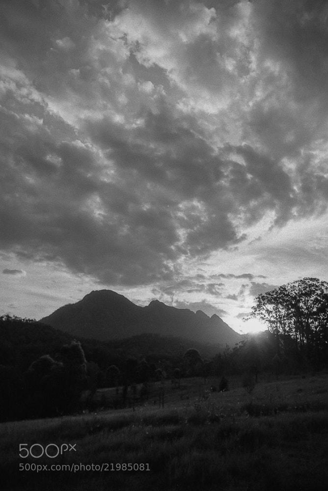 Photograph Mt Barney Sunset by Allan Uhlmann on 500px
