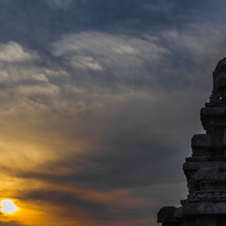 Sunrise at Ancient Port city of Mahabalipuram