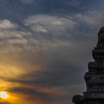 Sunrise at Ancient Port city of Mahabalipuram