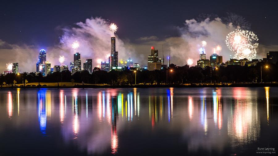 Melbourne NYE 2012