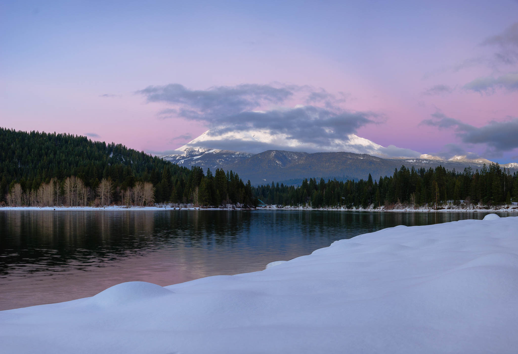 Photograph Peek-a-Boo (Mount Shasta) by Eric Leslie on 500px