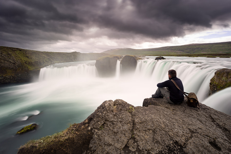 Lost Paradise - Godafoss Waterfall de Iñaki MT en 500px.com