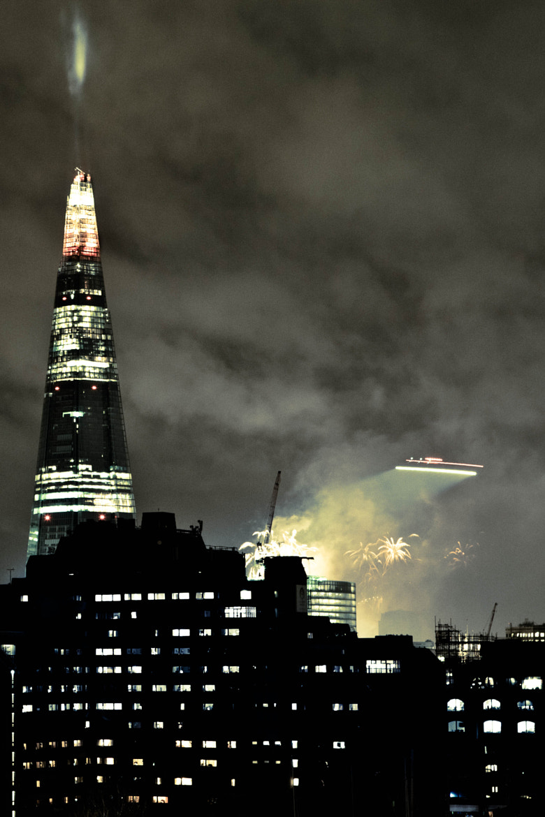 Photograph Shard at NYE by Robert Grabczewski on 500px