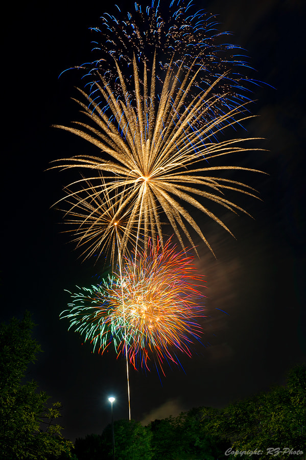 Photograph The Firework by Rudi Zhang on 500px