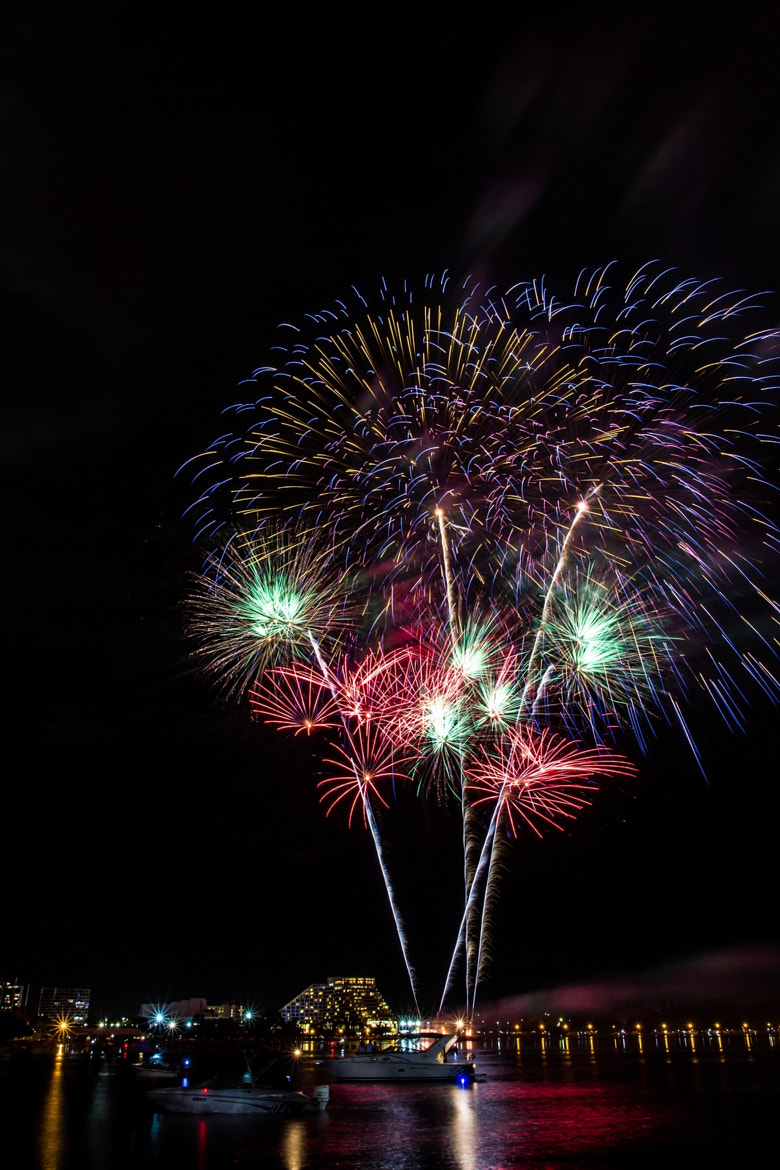 Photograph NYE Fireworks 2 by Daniel E Lee on 500px