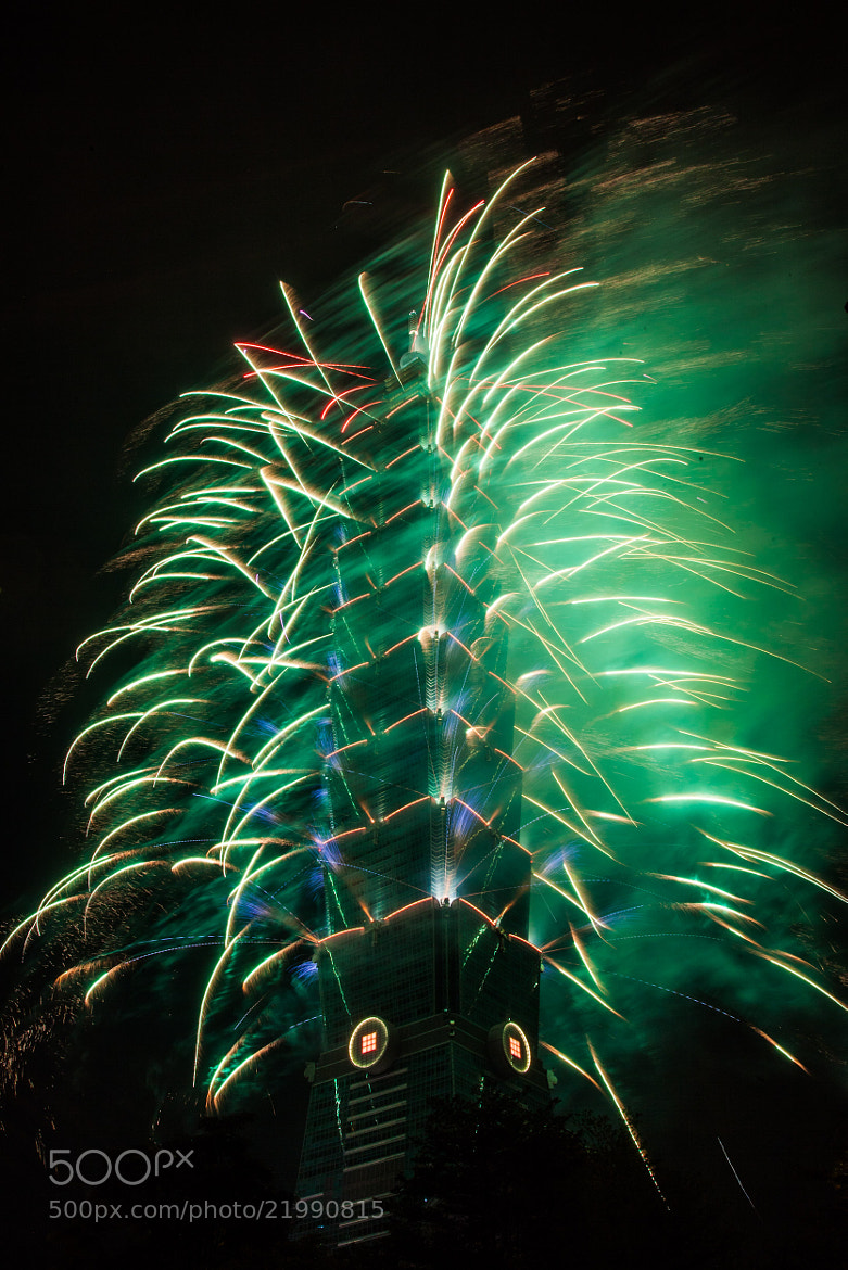 Photograph Taipei 101 NYE by Andrea Brt on 500px