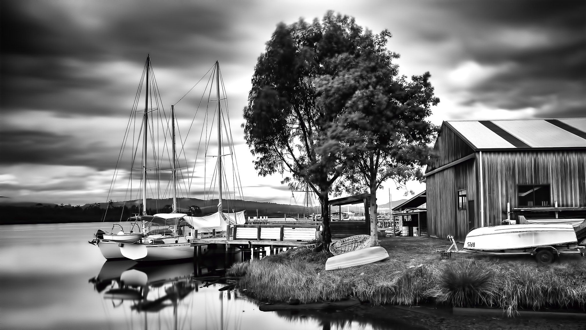 Photograph Franklin Boats by Margaret Morgan on 500px
