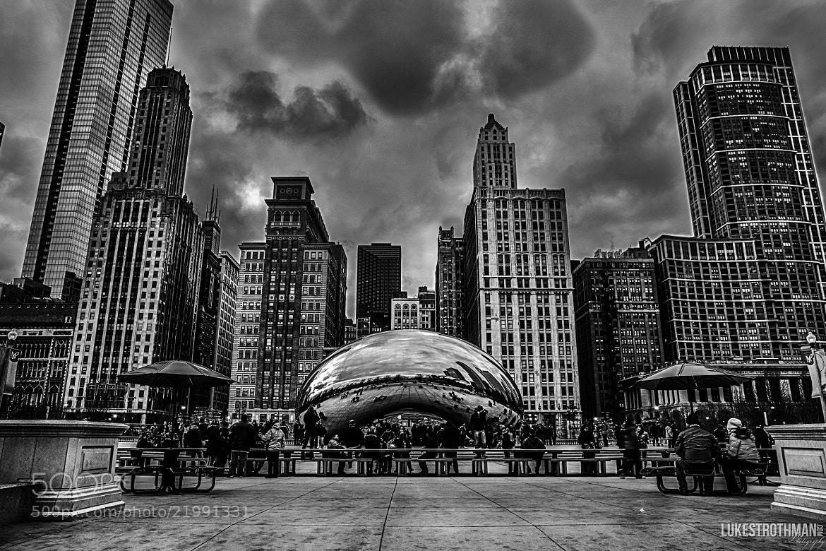 Photograph Chicago's Jelly Belly by Luke Strothman on 500px