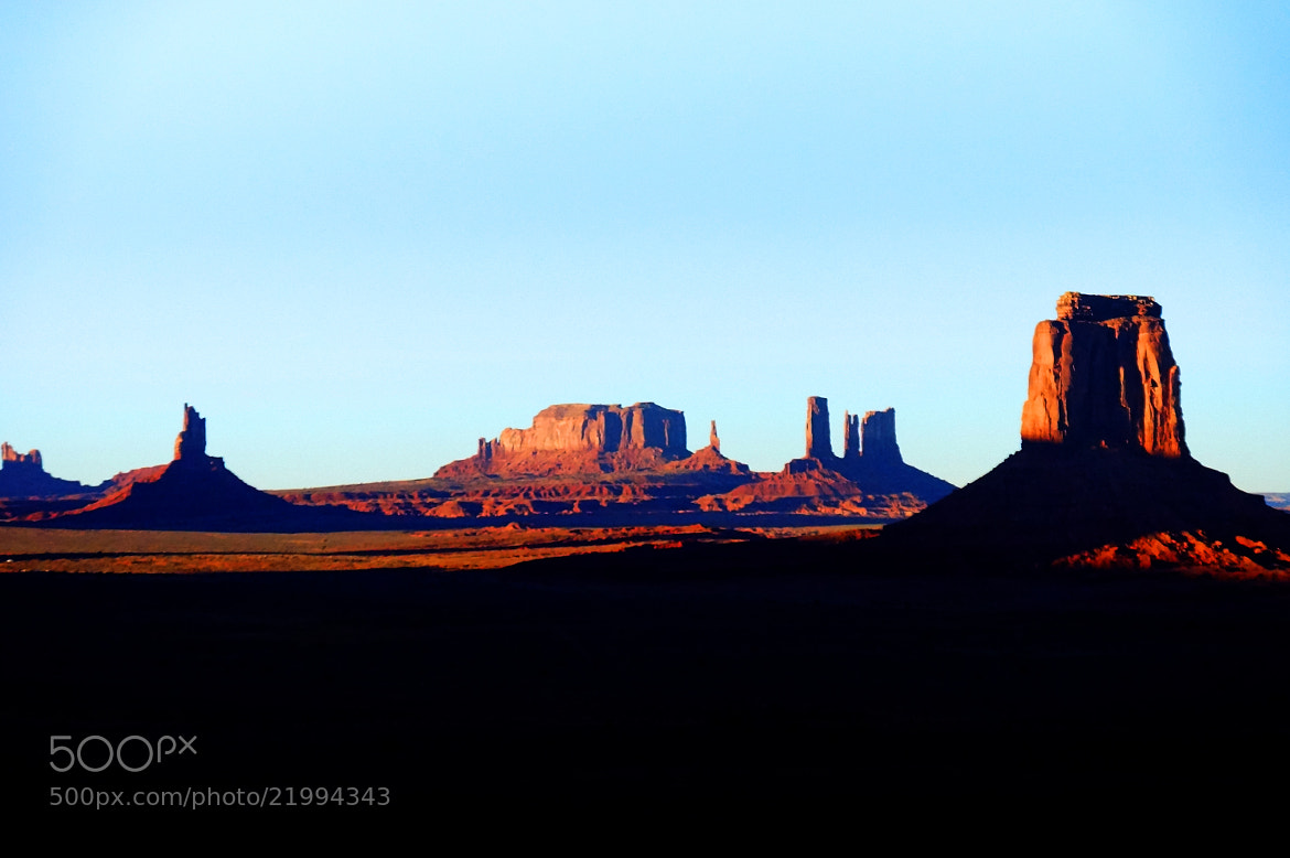 Photograph Monument Valley, UT by Rishi Ranjan on 500px
